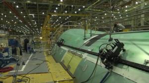 furadeira fuselagem boeing